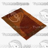 chandra rugs dai-5 3d model