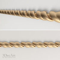 free decorative moldings 3d model