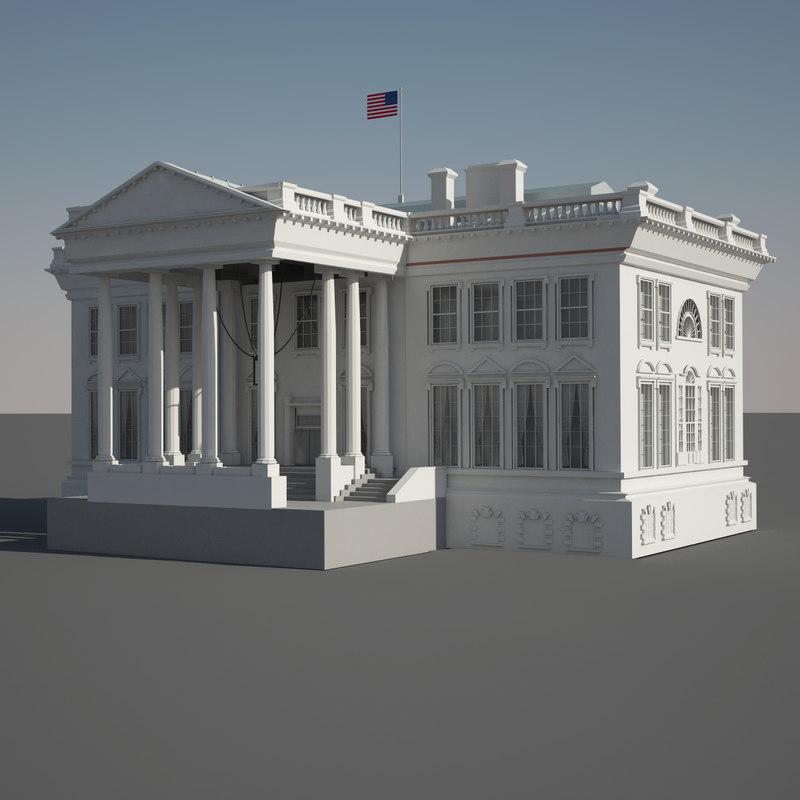 c4d lil white house