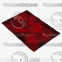 chandra rugs dai-9 3d max