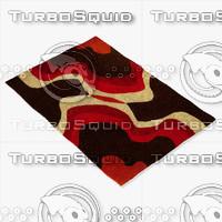 chandra rugs dai-14 3d model
