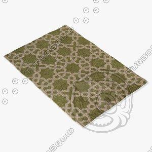 3dsmax chandra rugs dav-25801