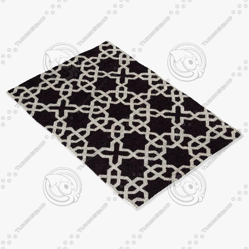 3d chandra rugs dav-25806 model