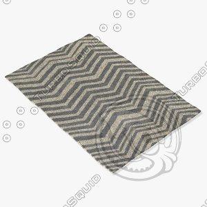 3ds max chandra rugs dav-25808