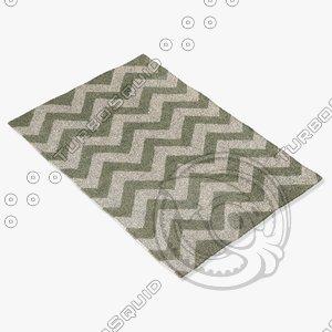 chandra rugs dav-25824 3ds