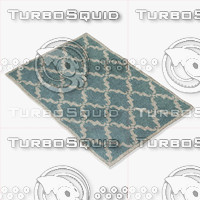 3d model chandra rugs dav-25827
