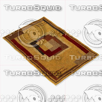 3d model chandra rugs dre-3113