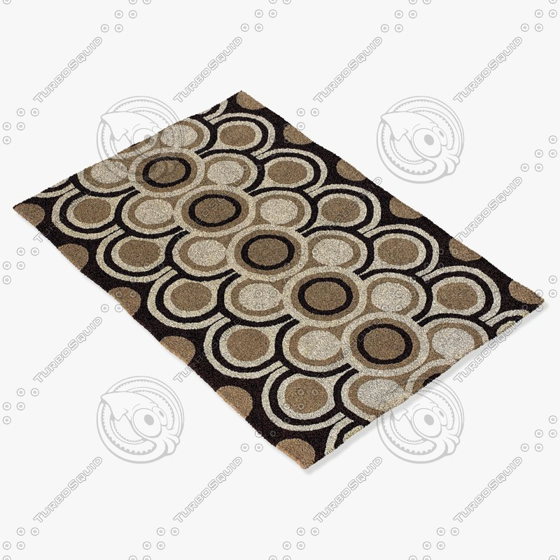 chandra rugs fre-4530 3d 3ds