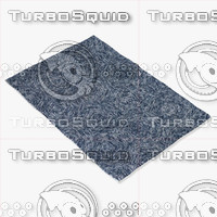 chandra rugs gal-30605 3d model