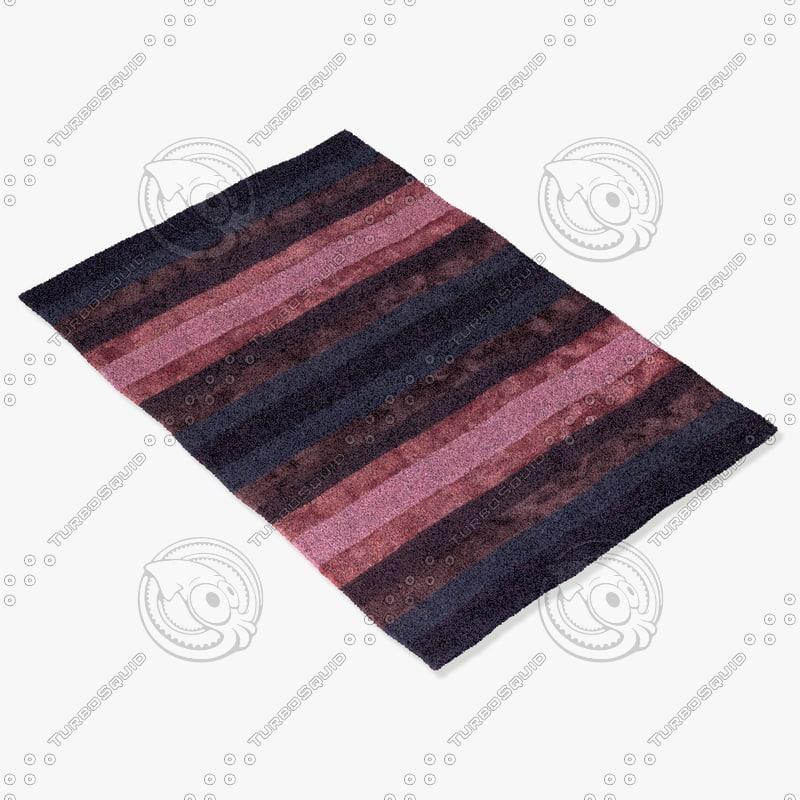 chandra rugs gar-30700 3d max