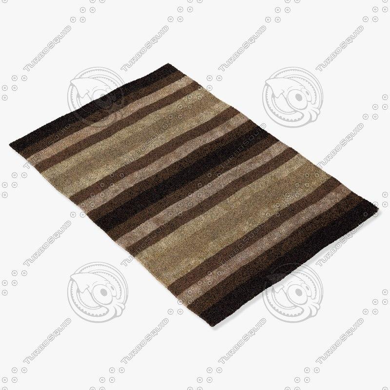 chandra rugs gar-30701 3d max