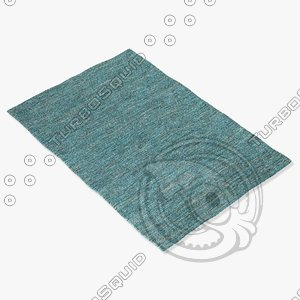 3d model chandra rugs ind-14