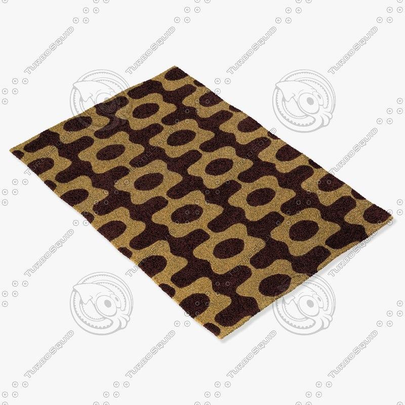 3d model chandra rugs inh-21600