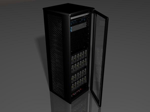 obj server rack storage