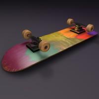 skateboard wheel 3d c4d