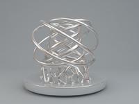 metal antiques 3d model