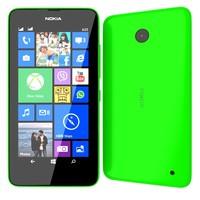 3ds max nokia lumia 630 green