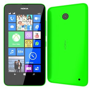3ds max nokia lumia 630 green