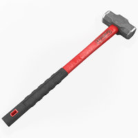 Sledge Hammer Graintex 3D Model