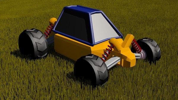 3d buggy model