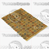 3d model chandra rugs kil-2205