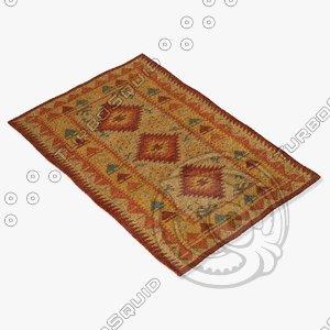 chandra rugs kil-2213 3d max