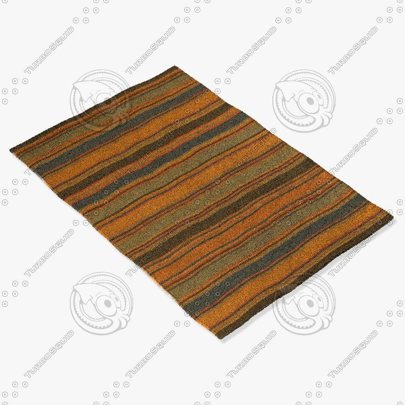 chandra rugs kil-2233 3d model