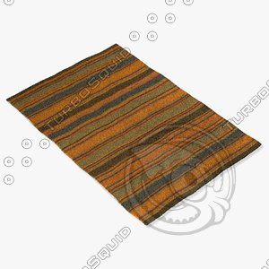 chandra rugs kil-2233 3d model