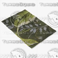 chandra rugs kro-6302 3d max