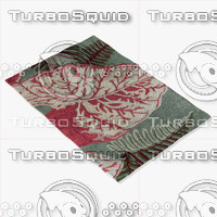 chandra rugs kro-6303 3d model