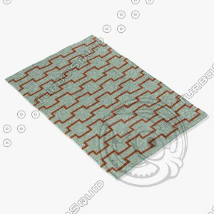 chandra rugs lim-25700 3d model