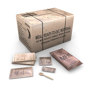 3d american military rations
