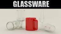 glassware glass 3d 3ds
