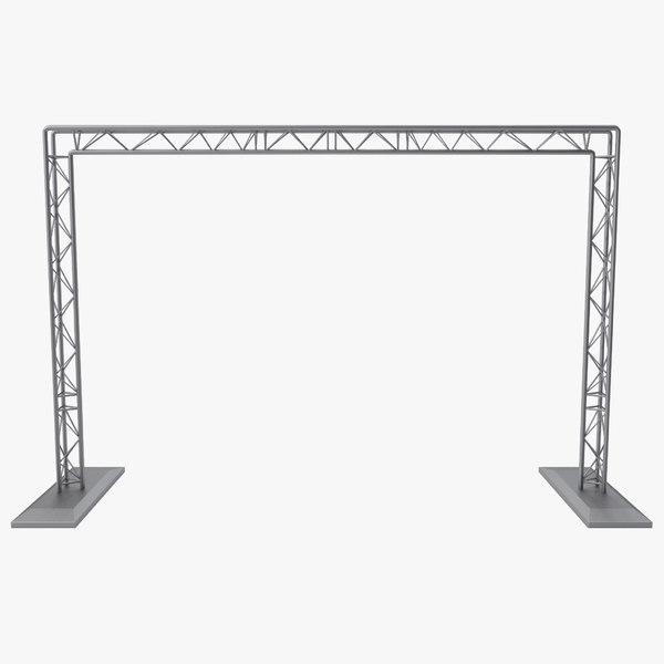 3d truss beam