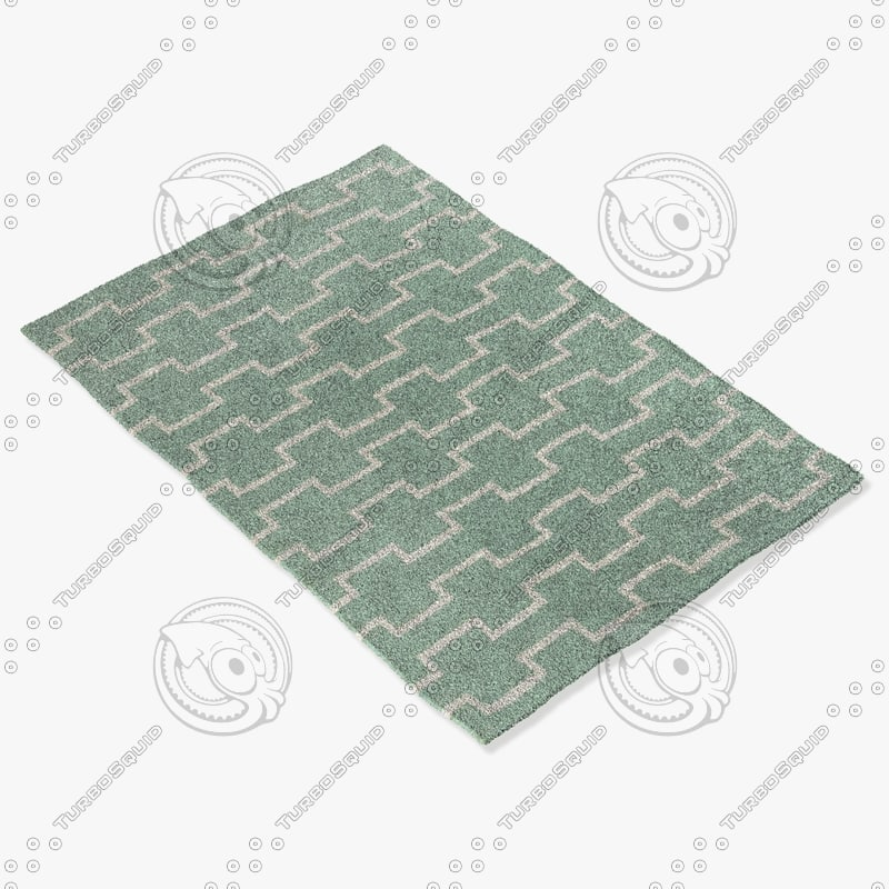 3dsmax chandra rugs lim-25702