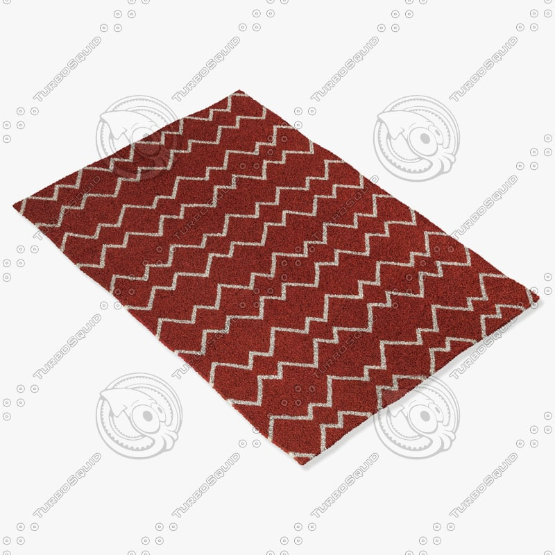 chandra rugs lim-25705 3d 3ds