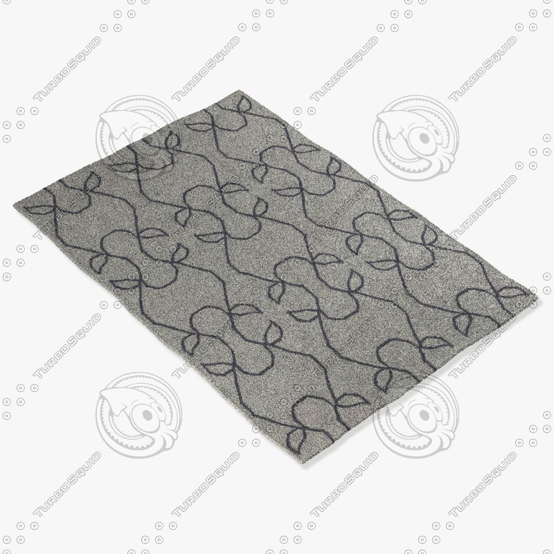 3dsmax chandra rugs lim-25708