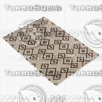 3d model chandra rugs lim-25710