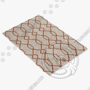 chandra rugs lim-25712 obj