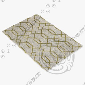 3d model chandra rugs lim-25714