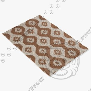 3d chandra rugs lim-25715 model
