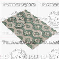 chandra rugs lim-25717 3d model