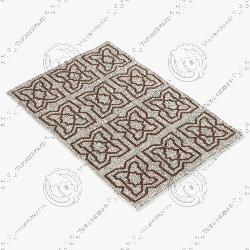 3d chandra rugs lim-25718 model