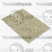 chandra rugs lim-25720 3d max