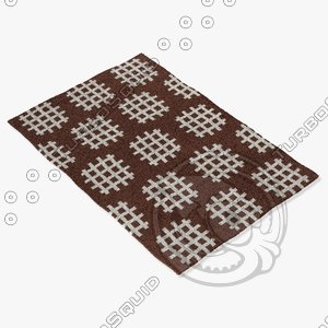 3d chandra rugs lim-25729 model