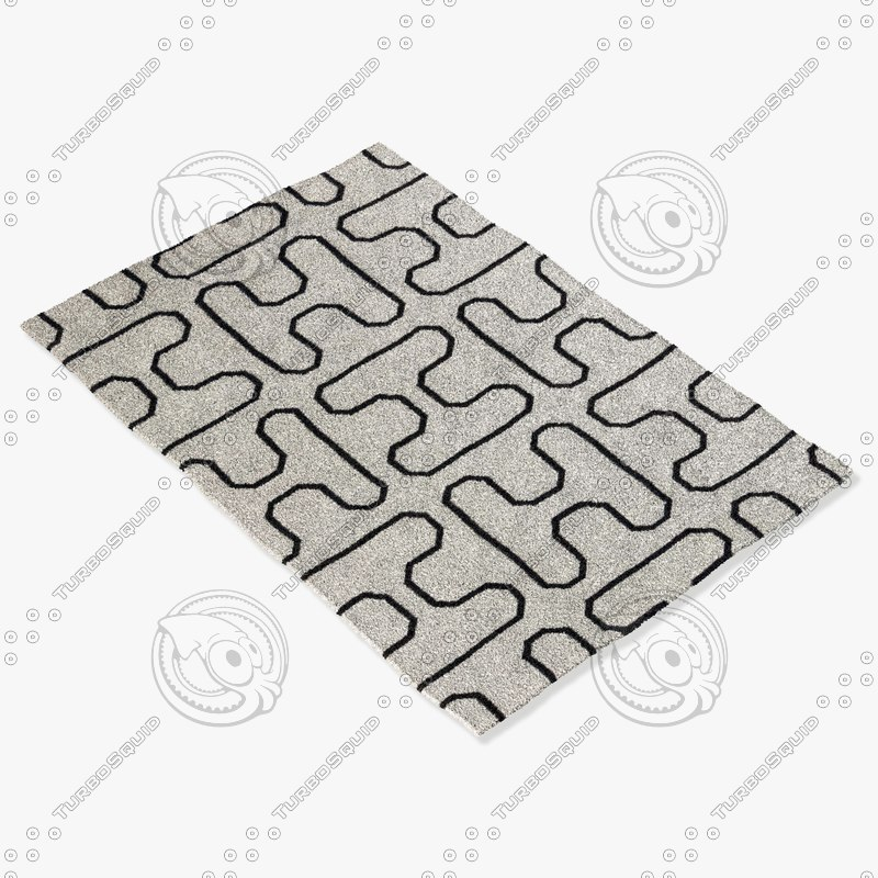 3d chandra rugs lim-25730 model