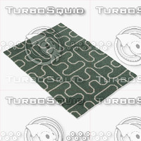 chandra rugs lim-25732 3d 3ds