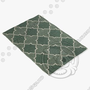 chandra rugs lim-25734 3ds