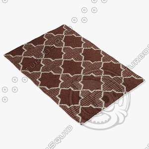 3d model chandra rugs lim-25735
