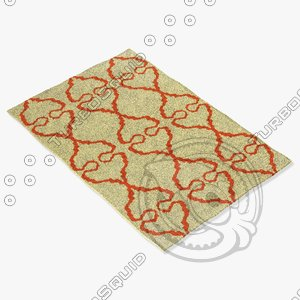 3d chandra rugs lim-25736 model